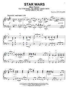 Fabulous John Williams: Star Wars (Main Theme) - Partition Piano Solo  SJ99