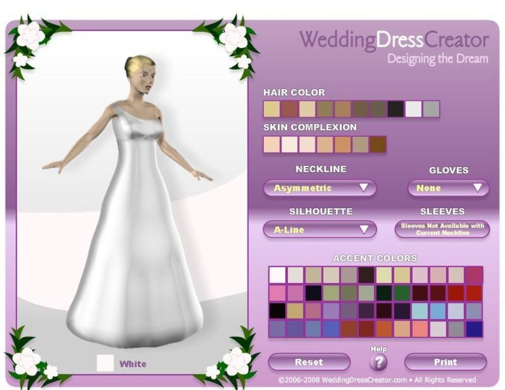 Wedding Dress Creator, Design your own Wedding Dress - http ...