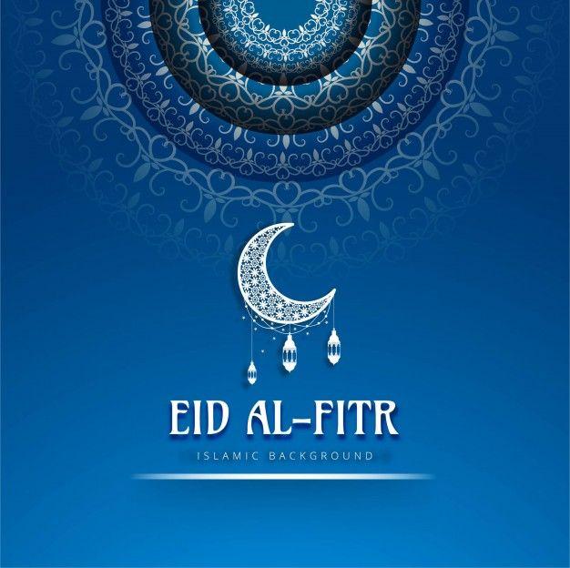 Eid Al Fitr Blue Background With Images Eid Al Fitr Happy Eid