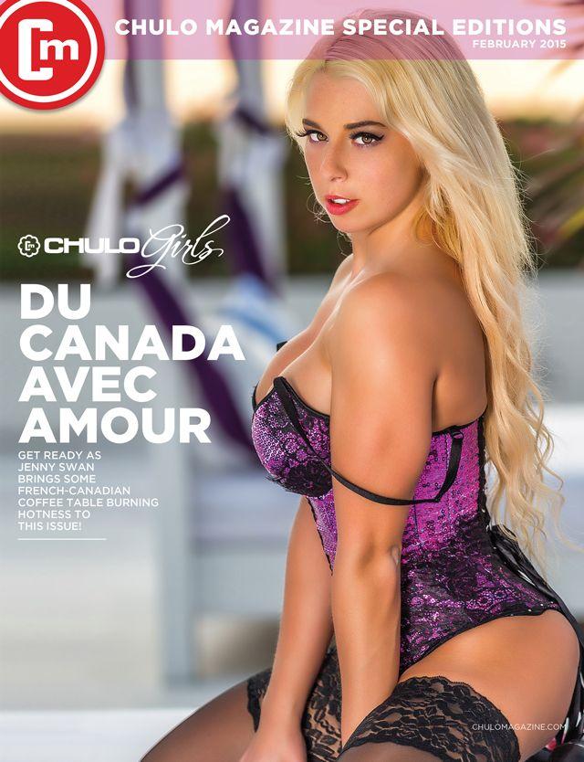 French canadian model jenny