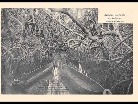 """Koval et Pauline Carton """"sous les palétuviers""""  1934"""