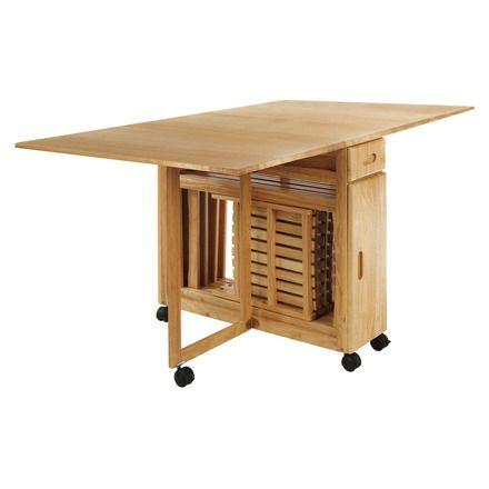 Mesa extensible Butterfly | Mesas y sillas plegables, Mesa y ...