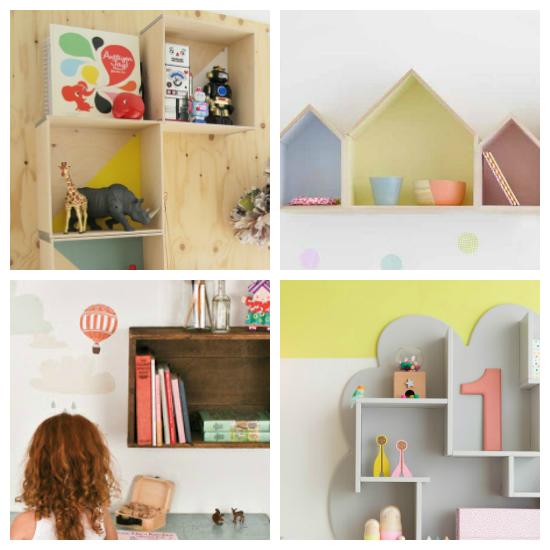 Estanter as originales para habitaciones infantiles decoraci n infantil pinterest - Estanterias infantiles originales ...