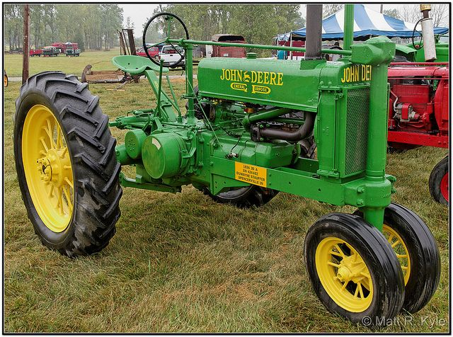 A History Of The John Deere Model A General Purpose
