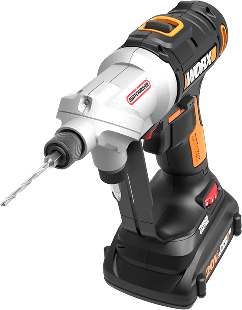 20v Power Share Switchdriver 2 In 1 Cordless Drill Driver