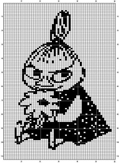 Moomin Knitting Pattern : 1000+ images about Muumi on Pinterest Embroidery patterns, The moomins and ...