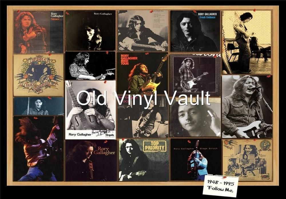 Rory Gallagher-Tribute Poster Collage repro print | eBay