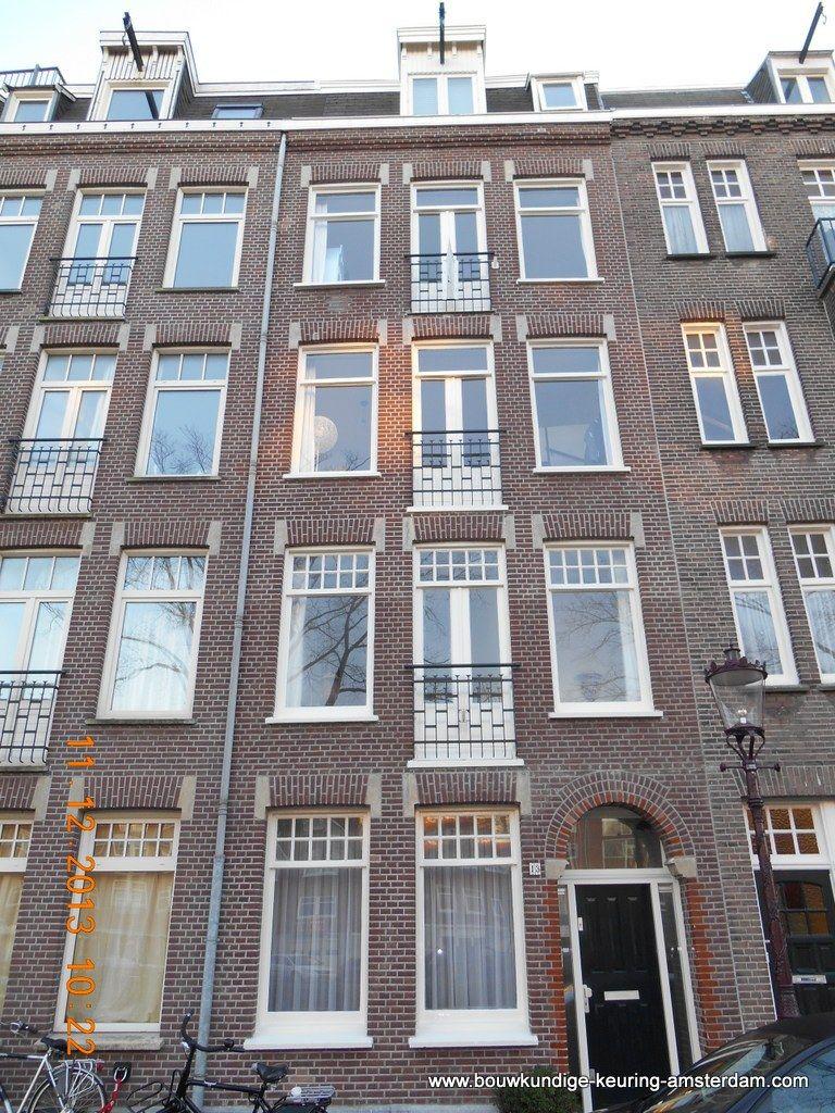 Derde Kostverlorenkade 13 Amsterdam - Fred Tokkie heeft de bouwkundige keuring uitgevoerd