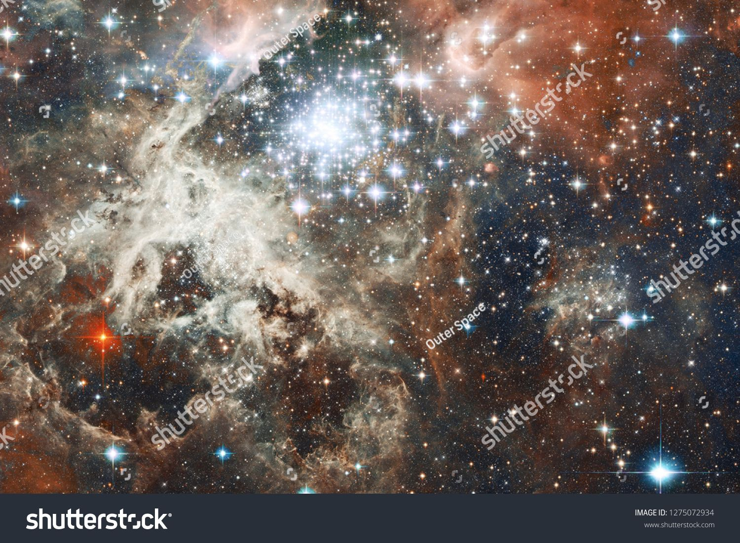 Beauty Deep Space Science Fiction Fantasy In High Resolution Ideal For Wallpaper Elements Of This Image F In 2020 Deep Space Science Fiction Fantasy Science Fiction