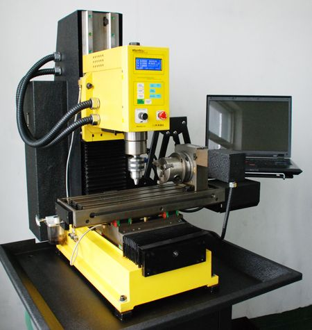 Details About Syil X5plus Cnc Milling Machine With 4th