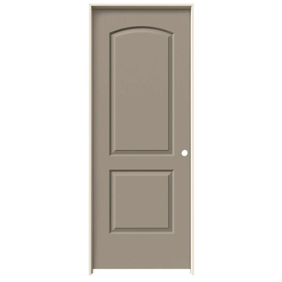 Jeld Wen Continental Sand Piper 2 Panel Round Top Solid Core Molded Composite Pre Hung Door Common 32 In X 80 In Actual 33 5625 In X 81 6875 In Lowes Com Jeld Wen Prehung Interior Doors Best Interior Design Websites