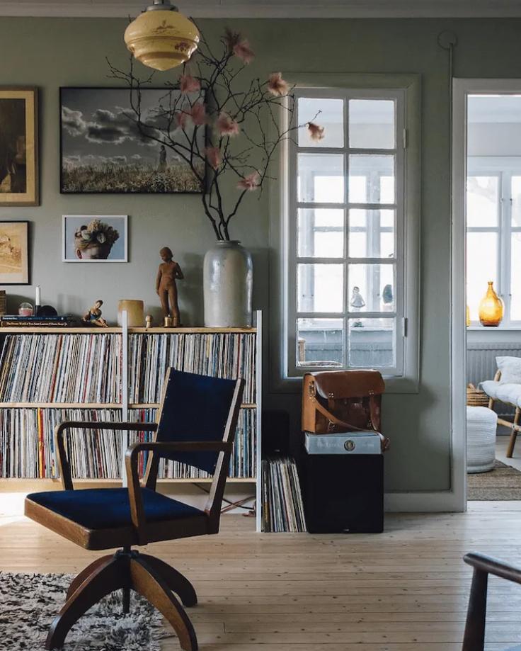 Photo of Post  Encanto r  stico sueco –  casa viejo decoraci  n  charming vintage kitchen…