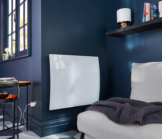 amazing ce radiateur lectrique double coeur de chauffe rvlation apporte une touche de modernit. Black Bedroom Furniture Sets. Home Design Ideas
