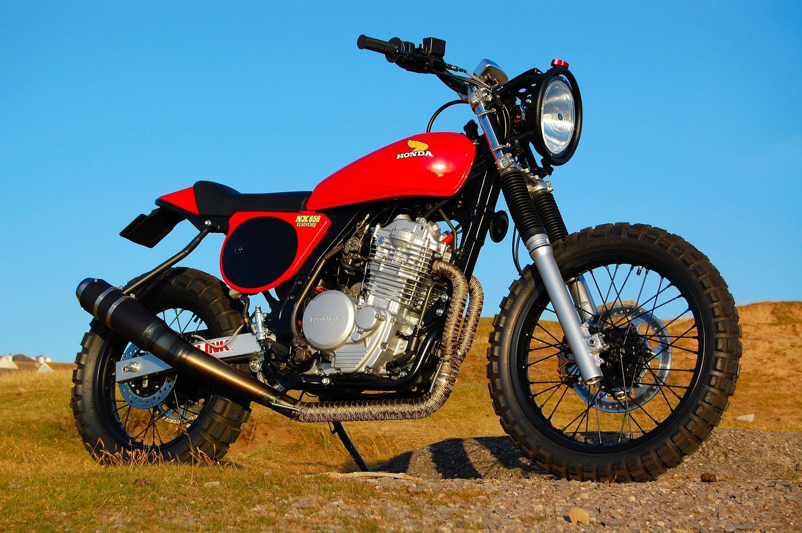 Honda Dominator NX650 – The retro dirtbike | CustomZone.info - The custom side
