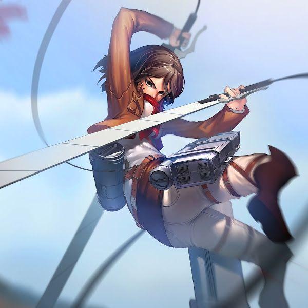 Mikasa, Attack on Titan, 4K,3840x2160, Wallpaper Attack