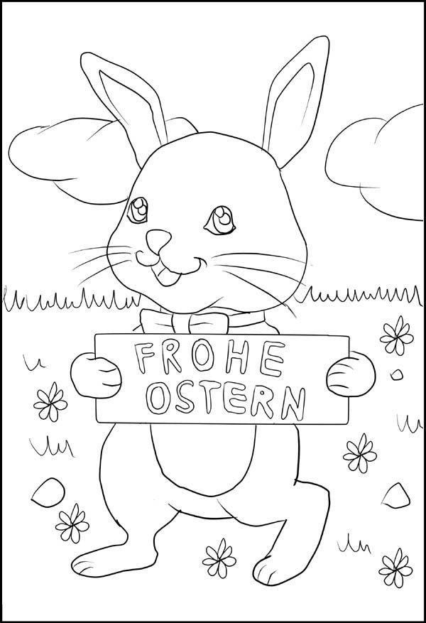 Frohe Ostern Ausmalbilder Kostenlos Coloring Pages Crafts Diy And Crafts