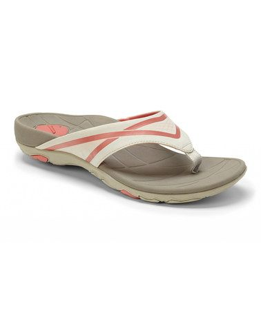 4390287e3eb7 Look what I found on  zulily! Gray Atlas Sandal by Vionic with ...