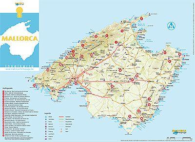 Mallorcas Schonste Sehenswurdigkeiten Mallorca Karte Mallorca