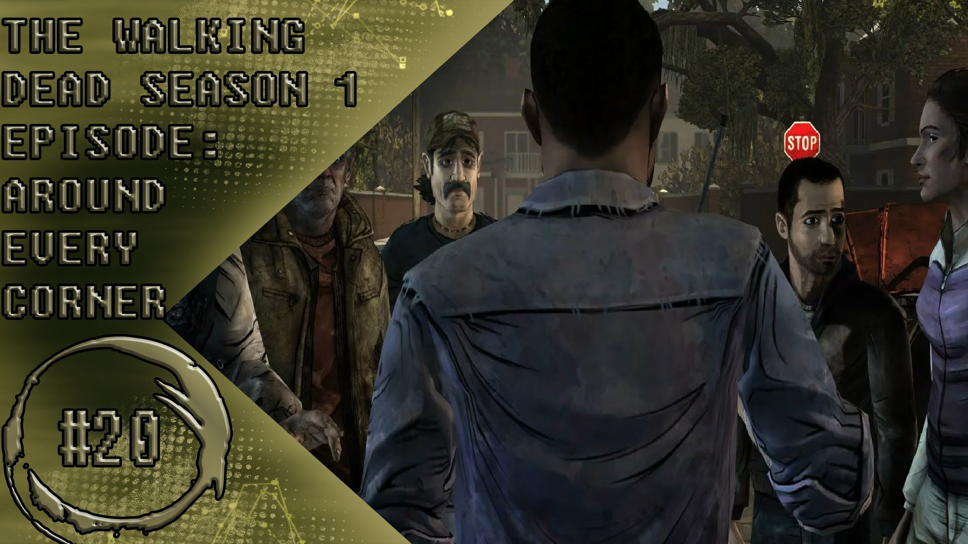 THE WALKING DEAD SEASON 1 EPISODE 4 AROUND EVERY CORNER PART 1 NEW HOUSE