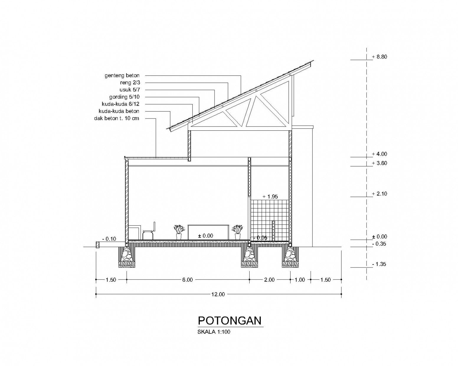 Koleksi Ide Terbaru Dari Atap Rumah Miring Satu Arah Rumah Atap Arsitektur Rumah