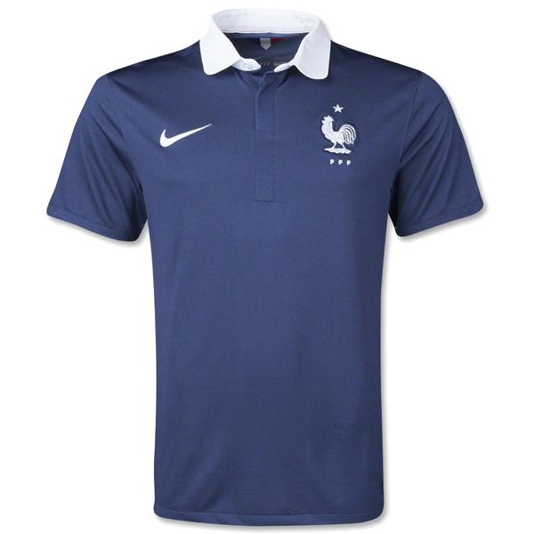 Nike France Home Jersey 14 15 Navy White France Football Jersey Soccer Jersey France Soccer Jersey