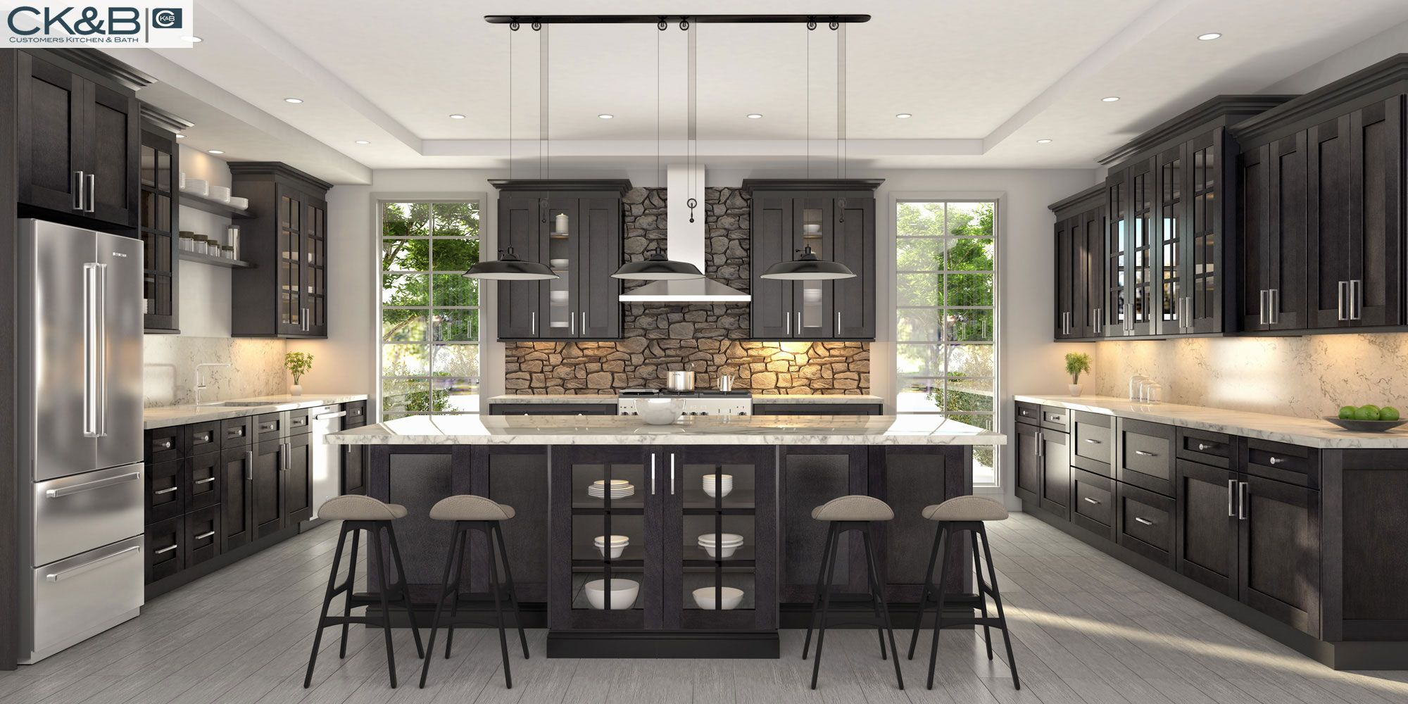 Family #Kitchen Design #Cambriausa #kitchen #remodel # ...