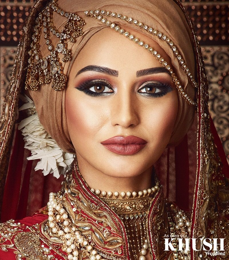Hijab styling, hair & makeup! srbridal is the perfect