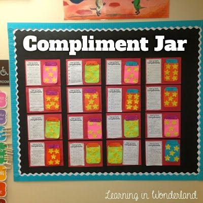 Best 25 Compliment Jar Ideas On Pinterest Classroom