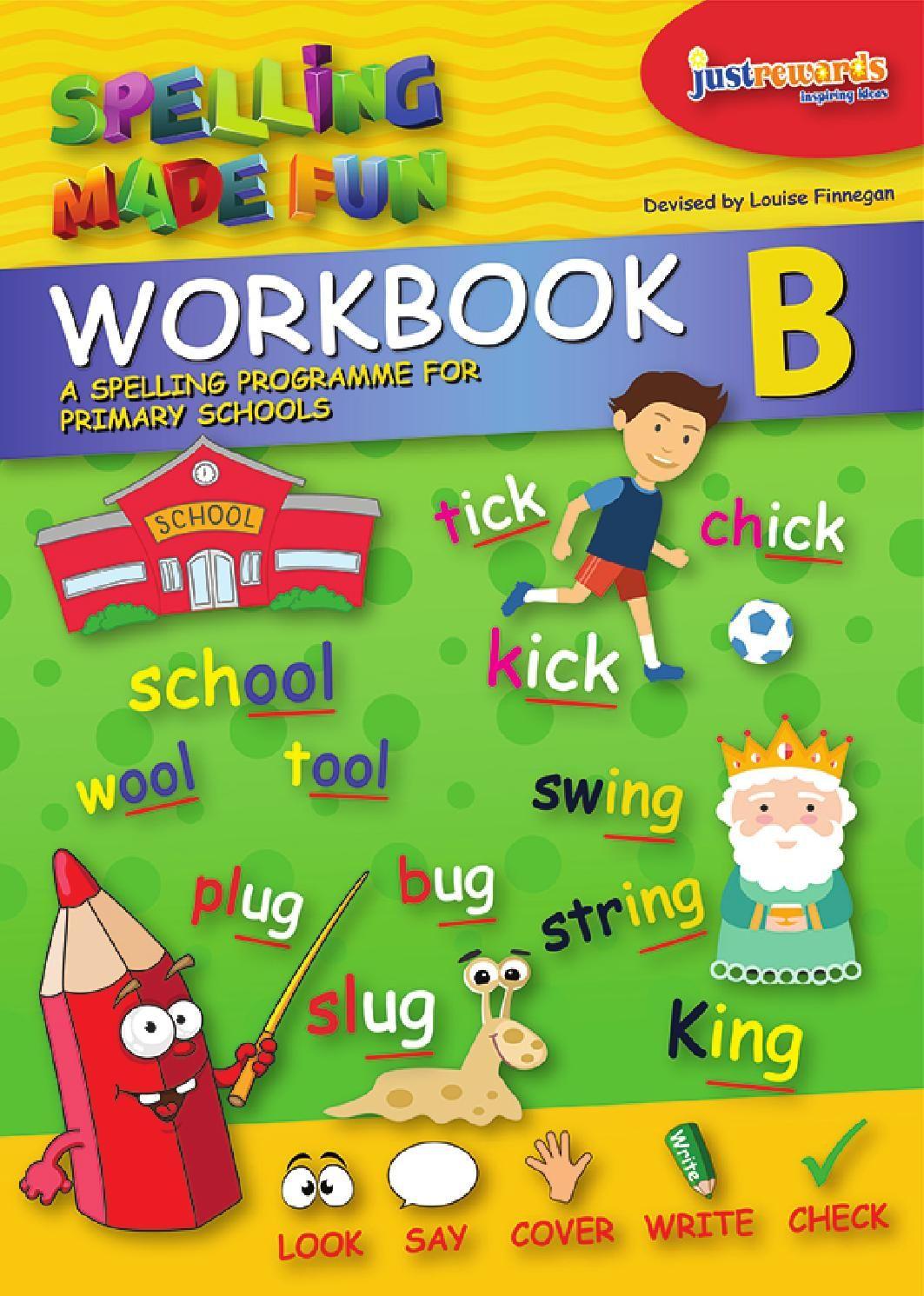 Spelling Made Fun Workbook B English books for kids, Fun