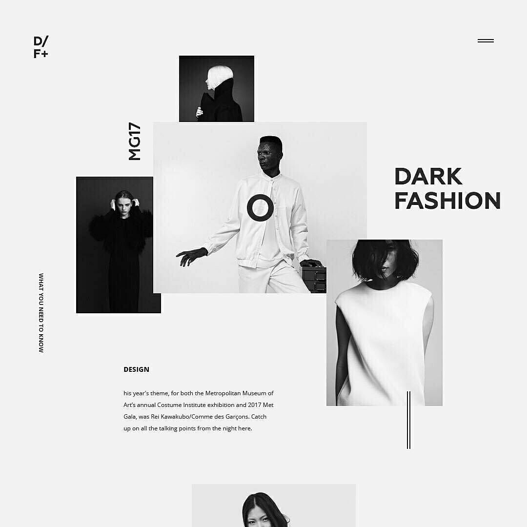 "908 Likes, 5 Comments - Graphic Design UI UX WebDesign (@graphicdesignui) on Instagram: ""Fashion minimalism experience⠀ @design_fucker⠀ . Follow us  @GraphicDesignUI for more creative…"""