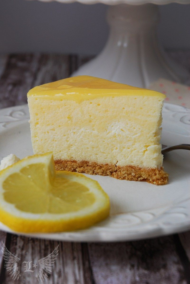 Lemon Curd Mousse Cake Kuchen Und Torten Kuchen Kuchen Kuchen Ohne Backen