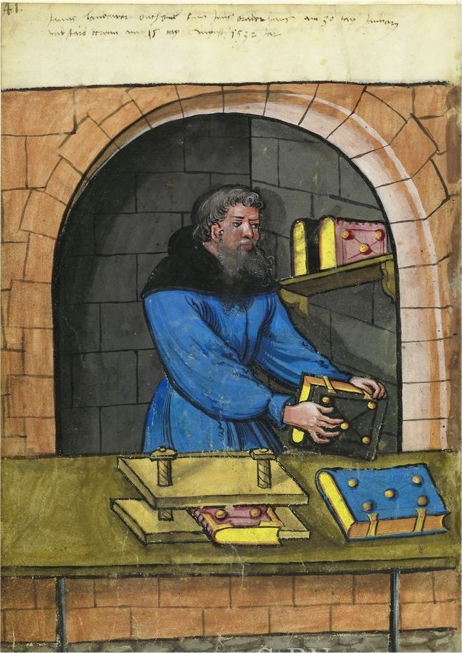 1500s: Crafts and trades, Germany - Bookbinder