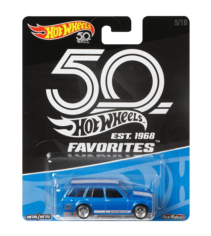 Hot Wheels 50th Anniversary Favorites \'71 Datsun Bluebird 510 Wagon ...
