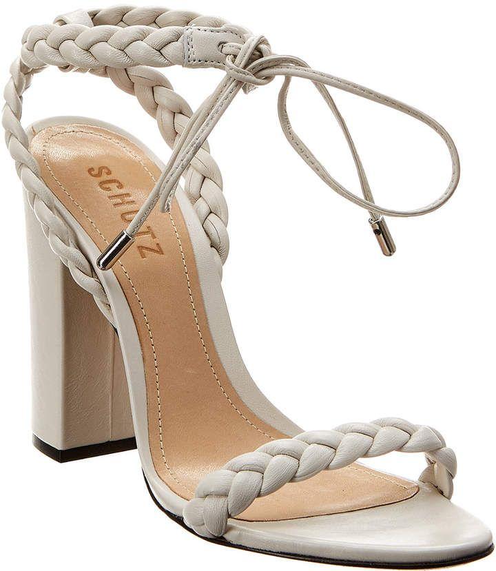 4c199bd77dc Schutz Lainna Leather Sandal in 2019