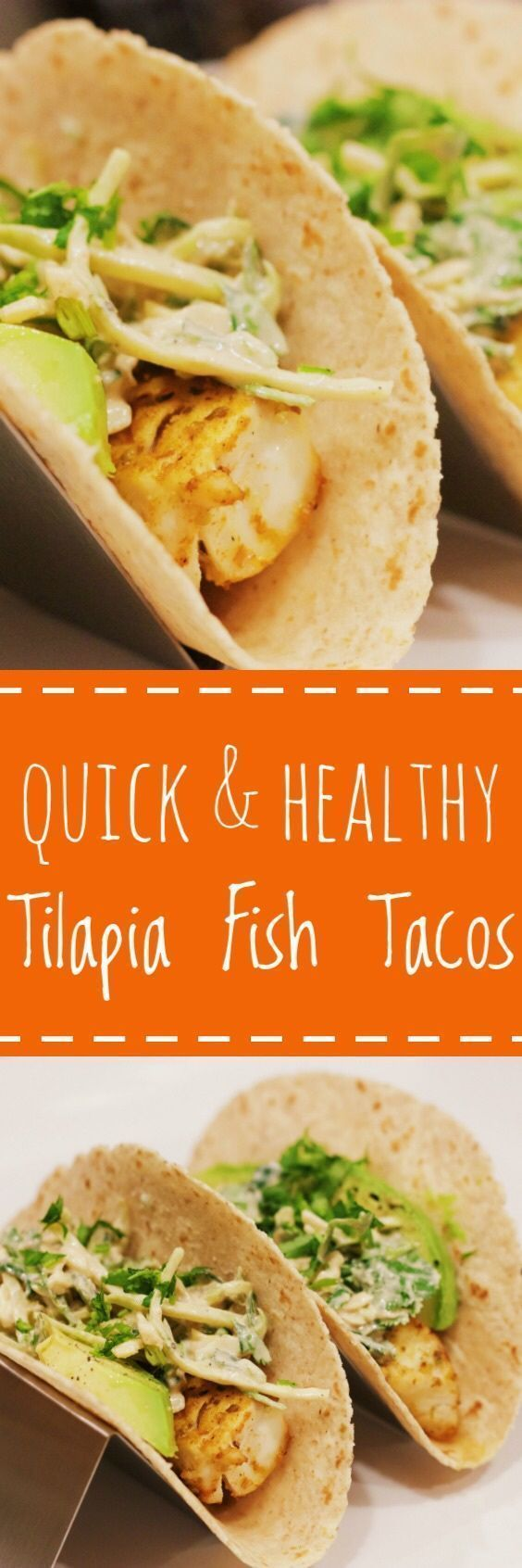quick and healthy tilapia fish tacos — cardio coffee and
