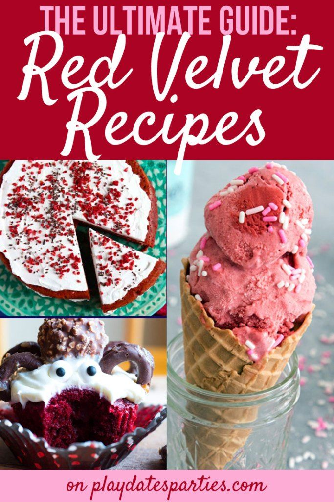 Looking for the BEST red velvet recipes? You're in luck! Learn all about red velvet, the history behind the trend and find over 80 amazing red velvet recipes you just have to try. #chocolate #redvelvet #cake #cookies