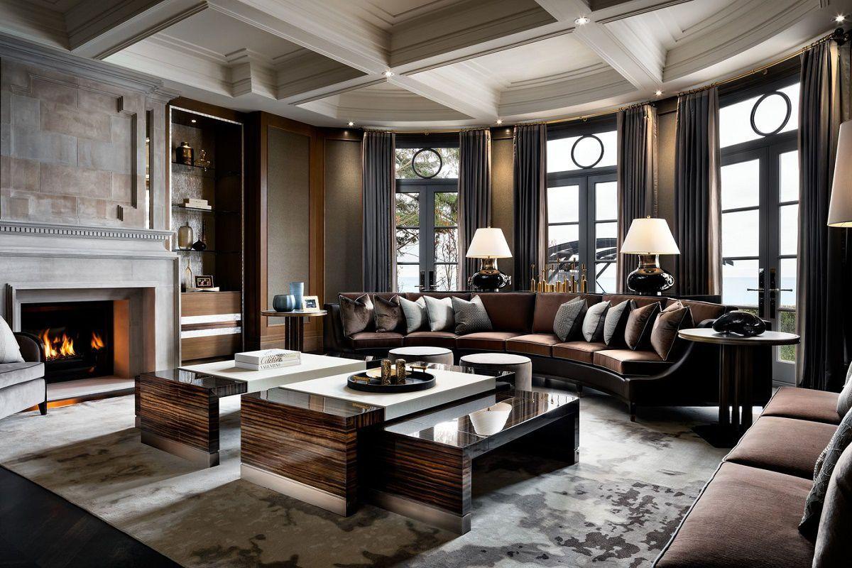 Iconic Luxury Design Ferris Rafauli  Dkdecor  Luxury Glamorous Luxury Living Room Interior Design Ideas Decorating Inspiration