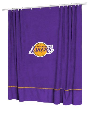 Nba Los Angeles Lakers Sidelines Shower Curtain Check Out The