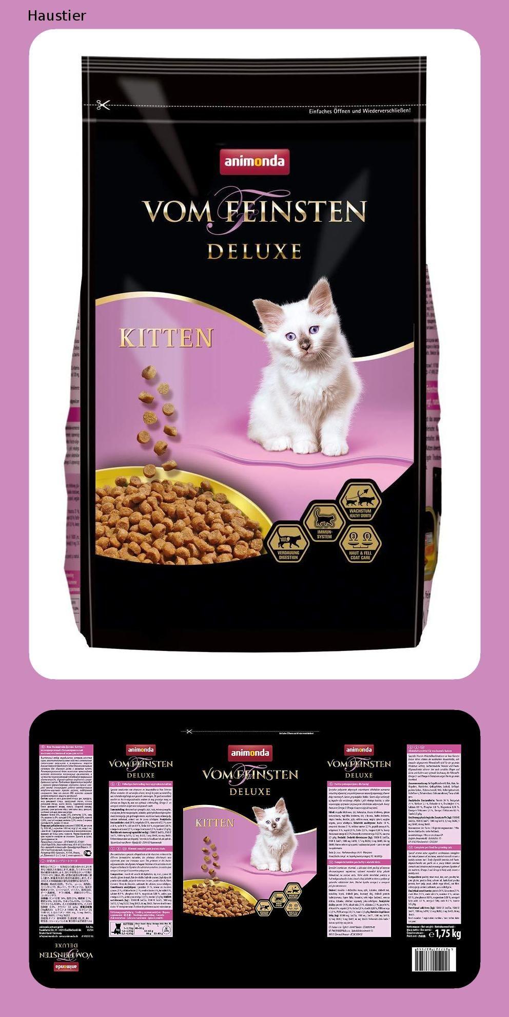 Animonda Vom Feinsten Deluxe Trockenfutter Fur Katzen Verschiedene Geschmacksrichtungen Katzen Futter Katzenfutter Katzen