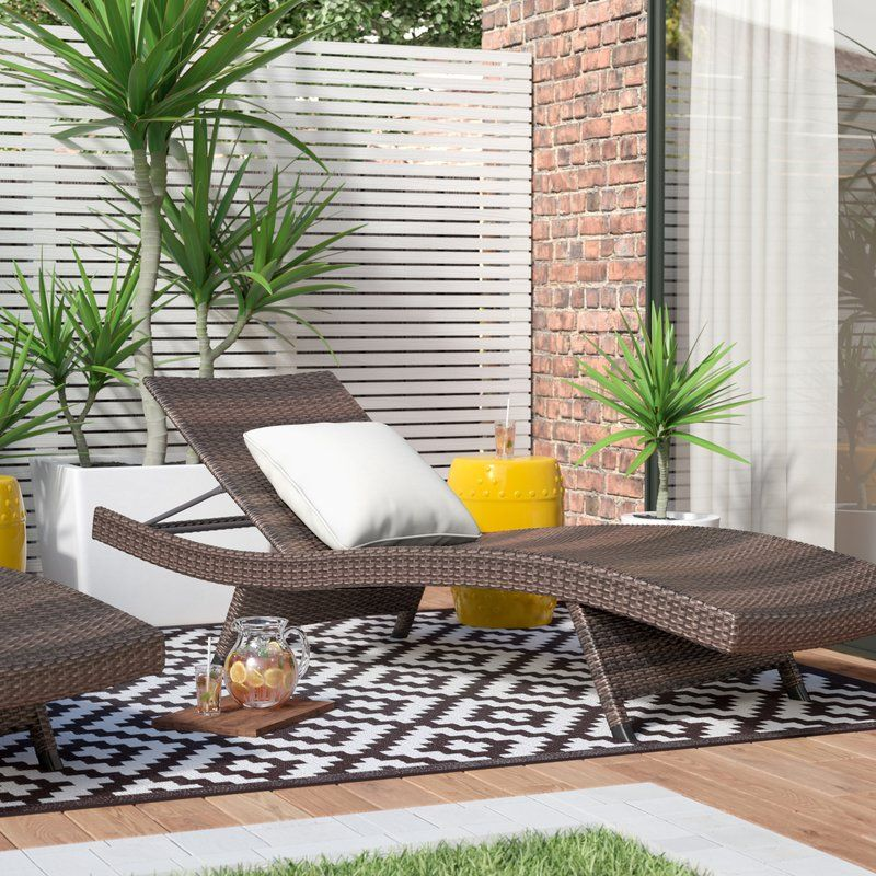 Best Website For Arcelia Outdoor Adjustable Chaise Lounge