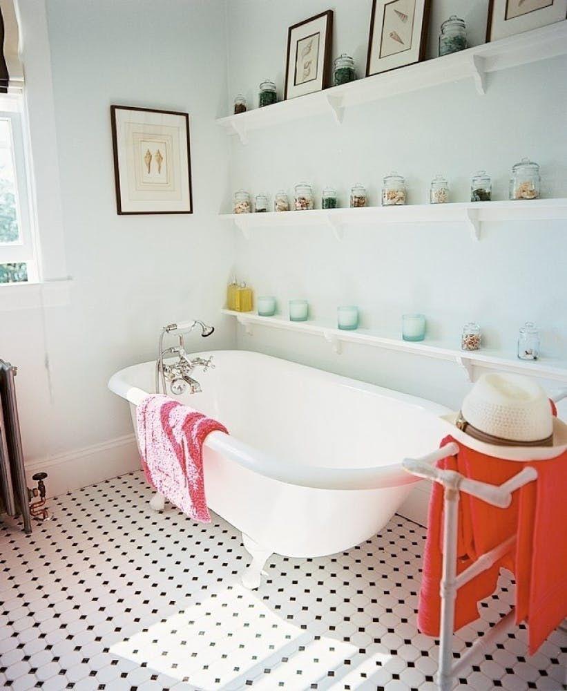 50s Bathroom Remodel Claw Tub