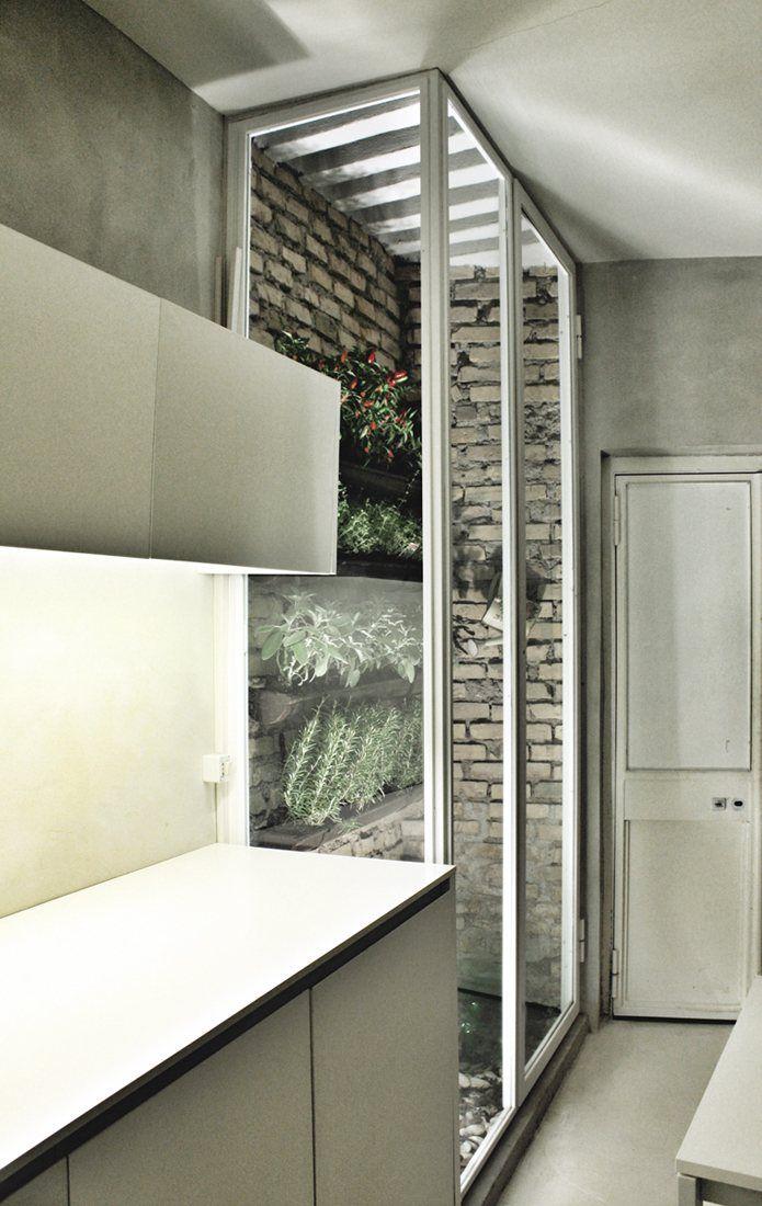 Giardino d\'inverno per le piante aromatiche direttamente in cucina ...