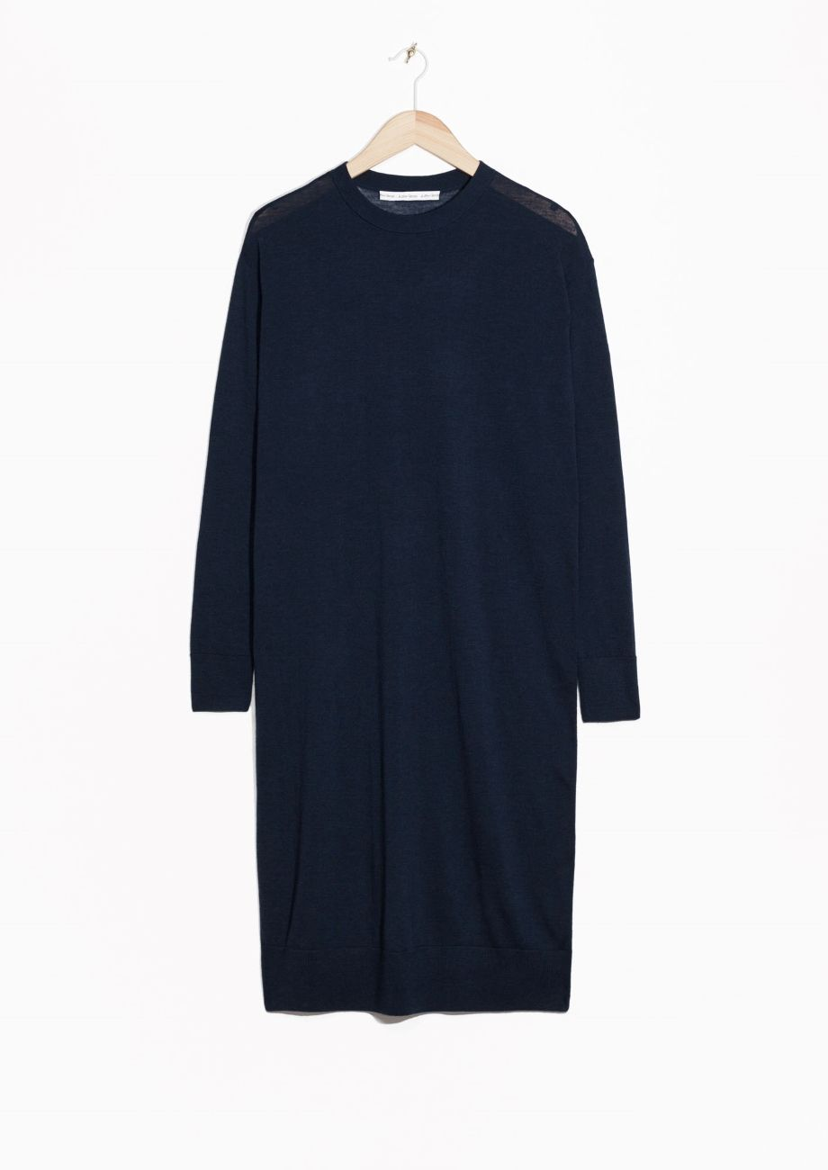 & Other Stories | Merino Wool Knitted Dress