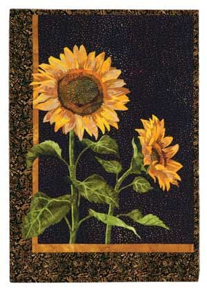 quilts sew sunflower pattern sunflowers love quilt to