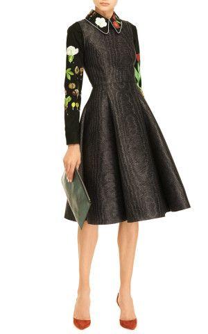 Penelope Printed Neoprene Dress by Vivetta - Moda Operandi