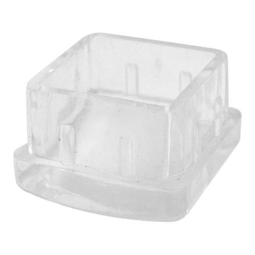 1 1 4 In Square Plastic End Cap Square Restaurant Supplies Plastic
