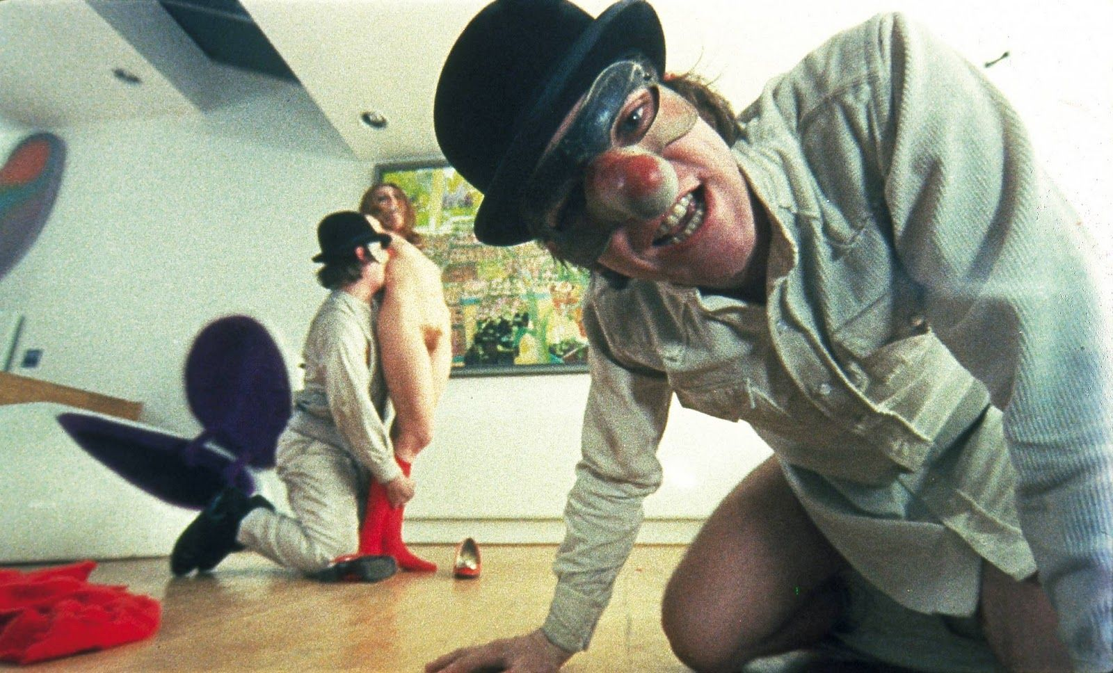 clockwork orange la naranja mecanica inspired cinema  a clockwork orange publicity still of malcolm mcdowell warren clarke adrienne corri the image measures 1200 725 pixels and was added on 1