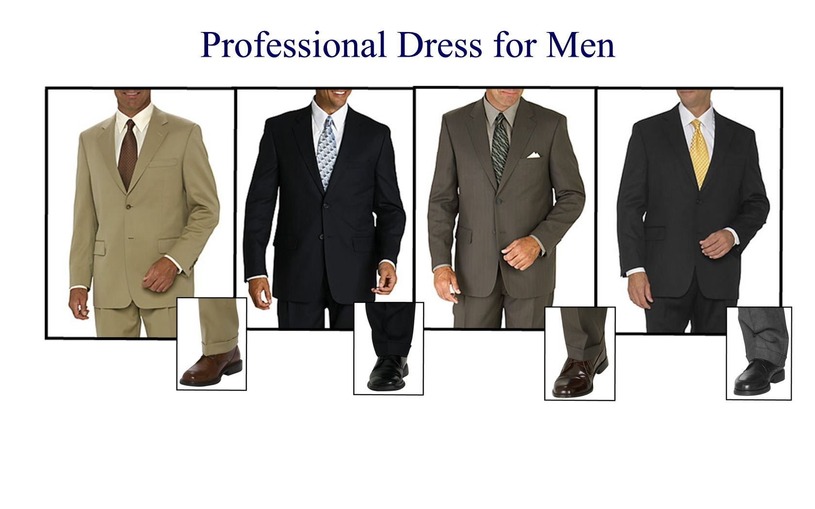 Dress to please your potential employer. Second impressions prove ...