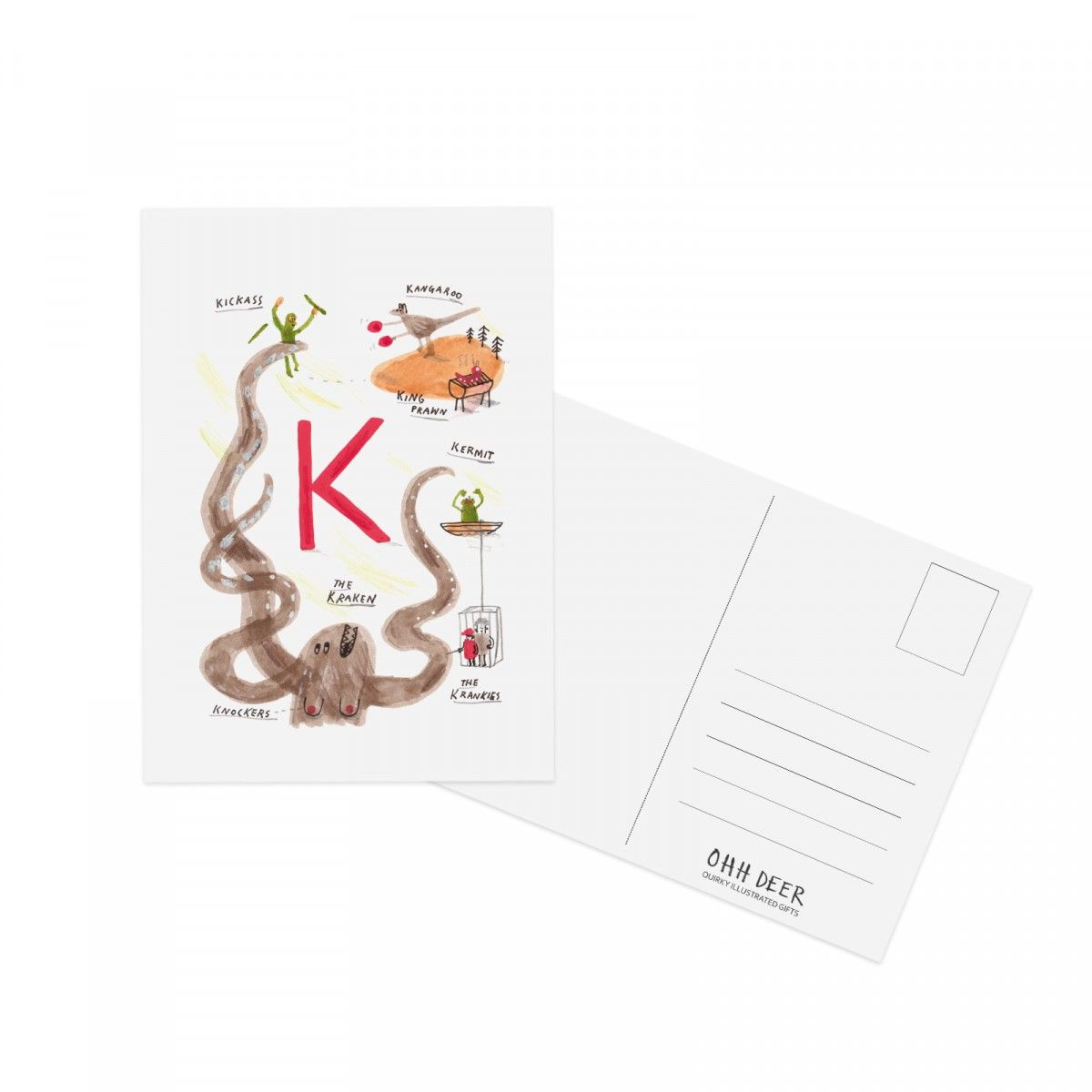 John Bonds Quirky Postcard Is Great For A Birthday Greeting