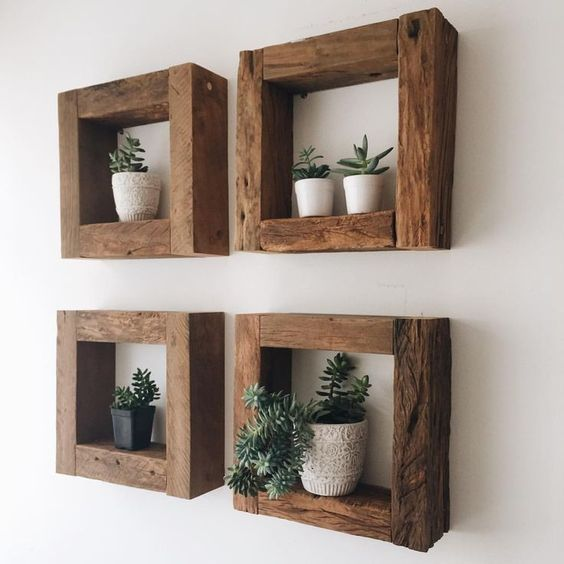 DIY Decoration. Shelves, plant stands, frames, stools, tables, and more! #diy #decoration #diydecoration #tutorials #shelves #plantstands #tables #hangingdecoration